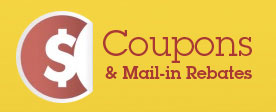 Coupons & Mail-in Rebates